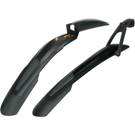 "SKS Shockblade & X-Blade Dark Mudguard Set 28/29"" black"